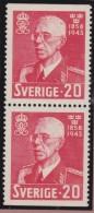 Sweden    .      Facit   .     344/346  +  BB   ( 2 Scans )    .       **   .    MNH    .   /   .  Postfris - Zweden
