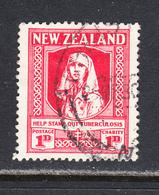 New Zealand 1929-30 Health, Cancelled, Sc# 544,SG B1 - Gebraucht