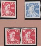 Sweden    .      Facit   .     361/362   +   BB        .       **   .    MNH    .   /   .  Postfris - Zweden