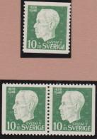 Sweden    .      Facit   .     382/384   +   BB   ( 2 Scans )     .       **   .    MNH    .   /   .  Postfris - Zweden