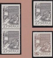 Sweden    .      Facit   .    440/441   +   BB        .       **   .    MNH    .   /   .  Postfris - Zweden