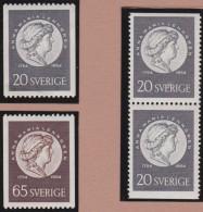 Sweden    .      Facit   .    456/457   +  BB   ( 2 Scans )          .       **   .    MNH    .   /   .  Postfris - Zweden