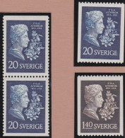 Sweden    .      Facit   .    476/477   +  BB       .       **   .    MNH    .   /   .  Postfris - Zweden