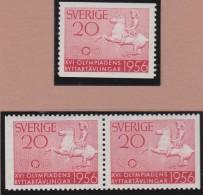 Sweden    .      Facit   .    478/480   +  BB   ( 2 Scans )      .       **   .    MNH    .   /   .  Postfris - Zweden