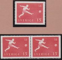 Sweden    .      Facit   .    492/494  +  BB   ( 2  Scans )    .       **   .    MNH    .   /   .  Postfris - Zweden