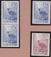 Sweden    .      Facit   .    495/496  +  BB      .       **   .    MNH    .   /   .  Postfris - Zweden