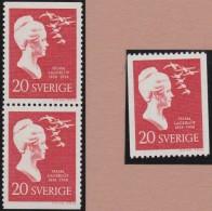 Sweden    .      Facit   .    497/499  +  BB   ( 2 Scans )   .       **   .    MNH    .   /   .  Postfris - Zweden