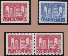 Sweden    .      Facit   .   526/527   +  BB       .       **   .    MNH    .   /   .  Postfris - Zweden