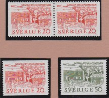 Sweden    .      Facit   .   551/552    +  BB            .       **   .    MNH    .   /   .  Postfris - Zweden