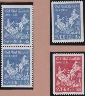 Sweden    .      Facit   .   555/556    +  BB            .       **   .    MNH    .   /   .  Postfris - Zweden