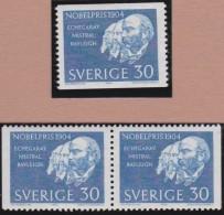 Sweden    .      Facit   .   559/560  +  BB  ( 2 Scans )        .       **   .    MNH    .   /   .  Postfris - Zweden