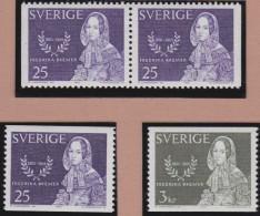 Sweden    .      Facit   .   568/569   +   BB          .       **   .    MNH    .   /   .  Postfris - Zweden