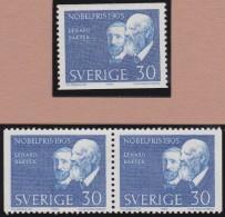 Sweden    .      Facit   .   570/571   +   BB    9 2 Scans )      .       **   .    MNH    .   /   .  Postfris - Zweden