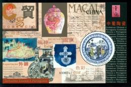 MACAO CHINE BF097 Céramiques Chinoises & Portugaises (assiette, Vases) - 1999-... Région Administrative Chinoise