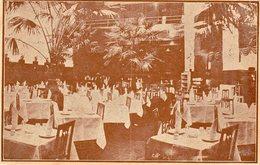 CONSTANTINOPLE   -  Restaurant Georges Karpitch - Grand'rue De Pera - Turquie