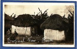 CPA Haïti Carte Photo RPPC Circulé Voir Scan Du Dos - Cartes Postales