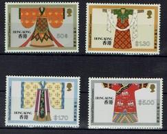 Hongkong 1987 - Traditionelle Chinesische Trachten - Costume - MiNr 528-531 - Kostüme