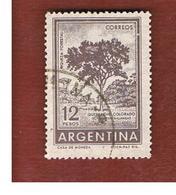 ARGENTINA - SG 1017  - 1959 RED QUEBRACO TREE        -   USED ° - Argentine