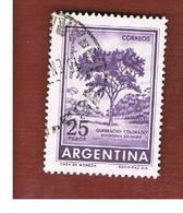 ARGENTINA - SG 1020  - 1959 RED QUEBRACO TREE        -   USED ° - Argentine