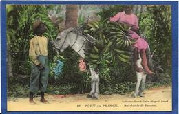 CPA Haïti Port Au Prince Non Circulé Marchand Métier - Cartes Postales