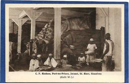 CPA Haïti Port Au Prince Non Circulé Marchand Métier - Postcards