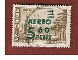 ARGENTINA - SG 1065   - 1962  OVERPRINTED 5,60 AEREO     -   USED ° - Argentina