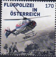 Austria 2016 1 V MNH Aviation Police Helicoptere Flugpolizei - Police - Gendarmerie