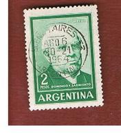 ARGENTINA - SG 1073   - 1962  PRESIDENT SARMIENTO     -   USED ° - Argentina