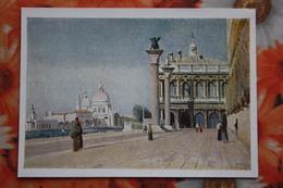 Venezia  In Art -  By Camille Corot - Matin A Venise , 1834 - French Art - 1958 - Russia USSR - Venezia (Venice)