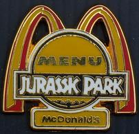 Pins SUPERB PIN'S MAC DO JURASSIC PARK - McDonald's