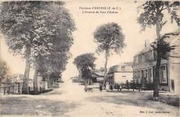62-ENVIRONS D'ARDRES- L'AVENUE DE PONT D'ARDRES - Ardres