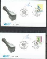 Czeslaw Slania.Faroe Islands 1979.  CEPT.. Michel  43-44  FDC.  Signed - Féroé (Iles)