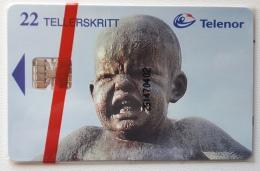 Norway , N 94 , Statue Angry Boy, Unused In Blister - Norway