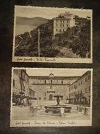 HOTEL PAGNANELLI   CASTEL GANDOLFO   PIAZZA DEL PLEBISCITO PALAZZO PONTIFICIO LOT DE 2 CARTES - Autres