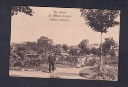Un Saluto De Albano Laziale - Pubblico Giardino (Ed. Caracuzzo) - Italia