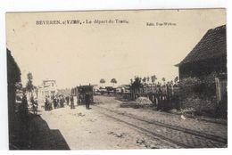 Beveren Aan De IJzer -Beveren S/Yzer  : Le Départ Du Tram 1909 - Alveringem