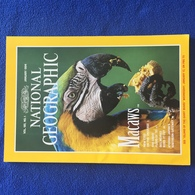 National Geographic,January 1994,  Macaws,  Vol. 185, No. 1 - Travel/ Exploration