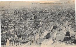 Marseille Panorama De La Ville 1929 - Non Classés