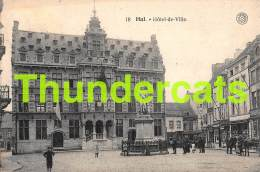 CPA HALLE HAL HOTEL DE VILLE - Halle