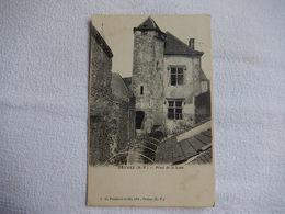64 - CPA - ORTHEZ - HOTEL DE LA LUNE - TIMBREE 1905 -   R15430 - Orthez