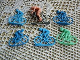 6 Figurines Cyclisme Vélo Bike - Figurines