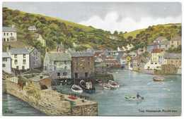 The Harbour Polperro By A R Quinton - Salmon 3747 Unused - Quinton, AR