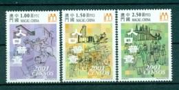 MACAO CHINE 1062/64 Recensement De La Population Et De L'habitat - 1999-... Région Administrative Chinoise