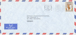Kuwait Air Mail Cover Sent To Denmark 4-3-1975 Single Franked (Royal Danish Consulate General) - Kuwait
