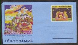 Vatican  2 EP Aerogramme 1986   Transfert De L'observatoire à Castel Gandolfo, 1 Neuf + 1.oblit. 1er Jour - Astrologie