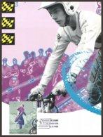 Finlande  2 CM 1995 Y&T 1265 +1266  Tommi Ahvala,Heikki Mikkola.Vainqueurs Trial,Motocross - Moto