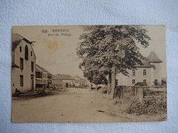 RARE CPA - MERTZIG - RUE DU VILLAGE - EDIT HOTEL SCHAMMEL MERTZIG -  R15434 - Postcards