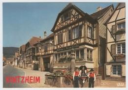 67.239.05 KINTZHEIM - Edts La Cigogne - Place Principale - Auberge Des Deux Clefs - Fontaine. - Altri Comuni