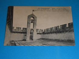 """17 ) Pons - Braun N° 3252 - Sommet De La Tour ; Donjon Du Chateau """" La Cloche """" : Année 1917 : EDIT : - Pons"""