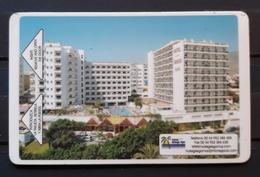 ESPAÑA TARJETA LLAVE - KEY HOTEL M.C.H. Griego Del Mar. - Cartas De Hotels
